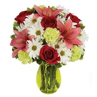 Sending Smiles flower bouquet for sale from Ingallina's Gifts